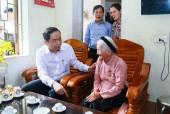 Chủ tịch Ủy ban Trung ương MTTQ Việt Nam Trần Thanh Mẫn thăm, tặng quà các đối tượng chính sách tại Bắc Ninh