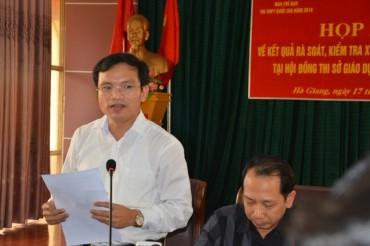 Điểm thi THPT ở Hà Giang: Hơn 330 bài thi được nâng ít nhất 1 điểm
