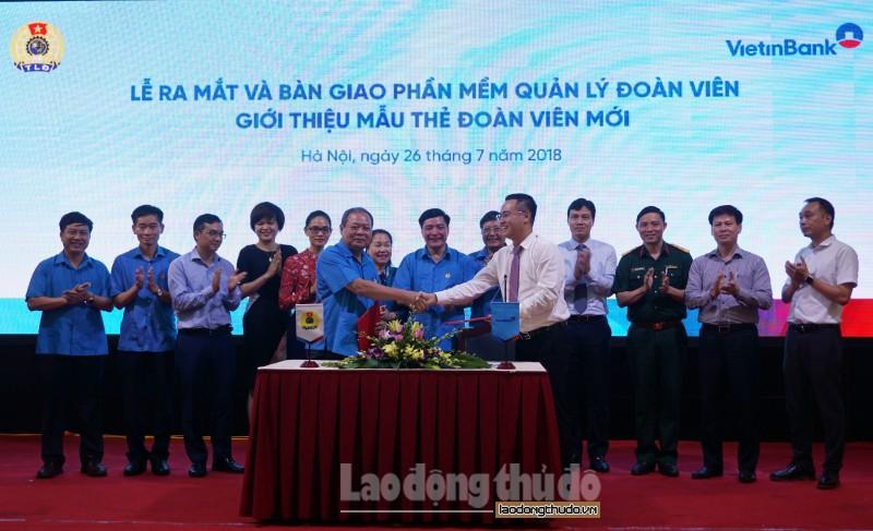 Tổng LĐLĐ Việt Nam ra mắt phần mềm quản lý đoàn viên công đoàn
