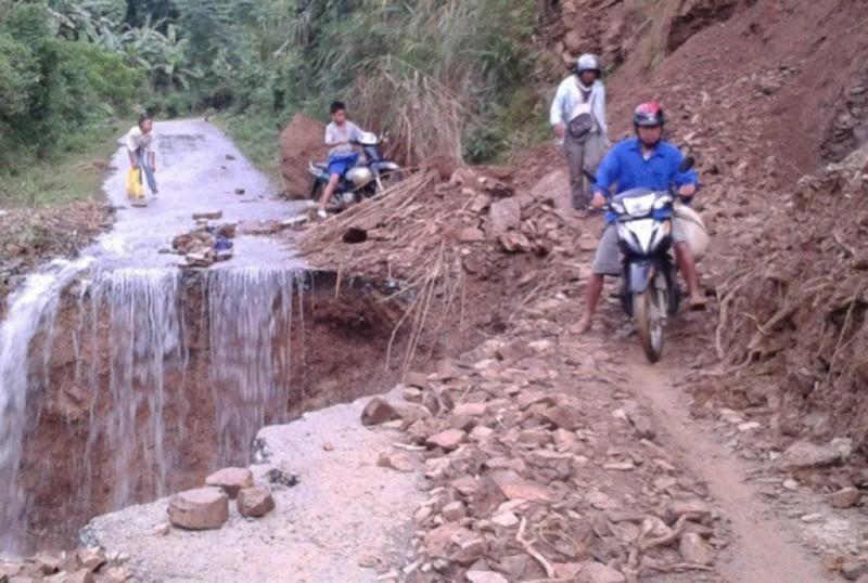 Công đoàn BIDV hỗ trợ người dân bị thiệt hại do mưa lũ