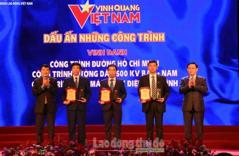 Vinh quang thuộc về những lao động Việt Nam