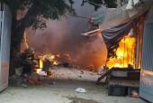 Long Biên: Đẩy mạnh phòng cháy chữa cháy tại các chợ trên địa bàn