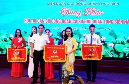 """Chung khảo Hội thi """"Cán bộ công đoàn cơ sở giỏi quận Long Biên"""" năm 2019"""
