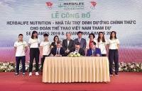 Tài trợ dinh dưỡng tới vận động viên dự SEA Games 2019 và ASEAN Para Games 2020