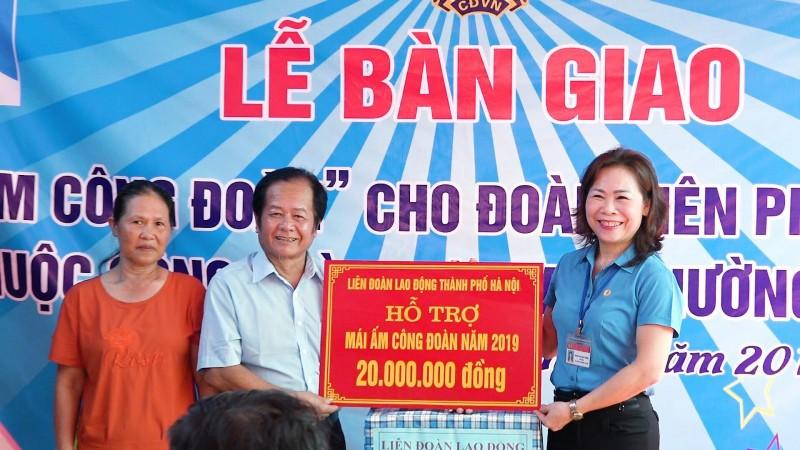 LĐLĐ quận Long Biên: Giúp đoàn viên thỏa nguyện ước mong