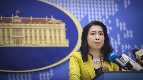 Yêu cầu tàu khảo sát của Trung Quốc rút ngay khỏi vùng đặc quyền kinh tế của Việt Nam