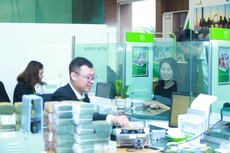 vietcombank giam lai suat cho vay 5 linh vuc uu tien xuong 55nam