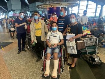 Đưa công dân Việt Nam mắc kẹt tại Malaysia về nước an toàn