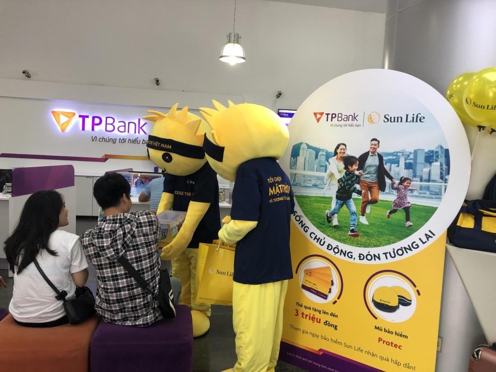 Nhận ngay quà hấp dẫn khi mua bảo hiểm Sun Life qua TPBank