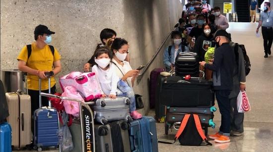 Thêm 346 công dân Việt Nam từ Hoa Kỳ được đón về nước an toàn