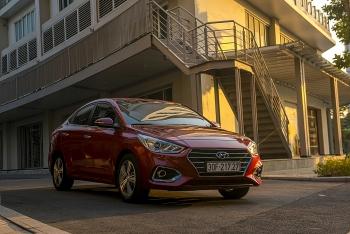 Hyundai Accent và Grand i10 tiếp tục là những mẫu xe ăn khách nhất