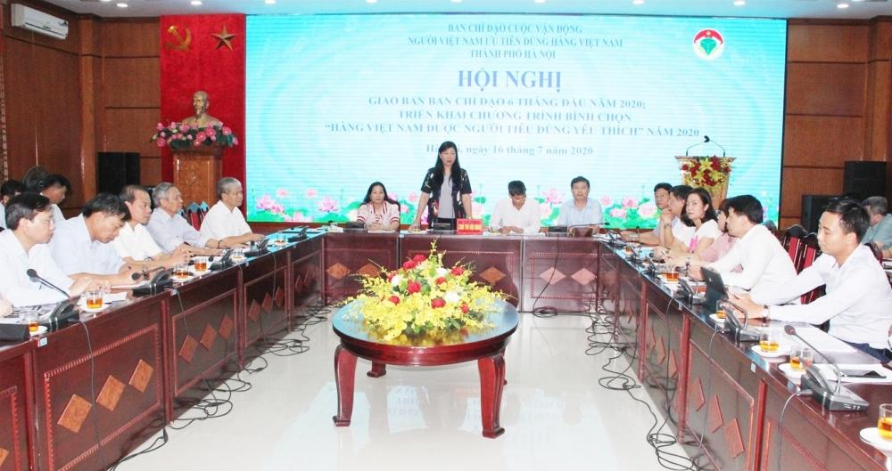 Đẩy mạnh tuyên truyền để người Việt Nam tự hào với sản phẩm, hàng hóa Việt Nam