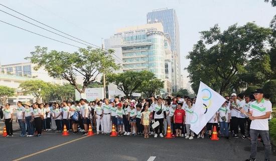 Herbalife Việt Nam đồng hành với Ngày chạy Olympic vì sức khỏe toàn dân