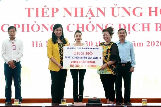 Thành phố Hà Nội hỗ trợ Đà Nẵng và Quảng Nam hơn 2 tỷ đồng phòng chống dịch Covid-19