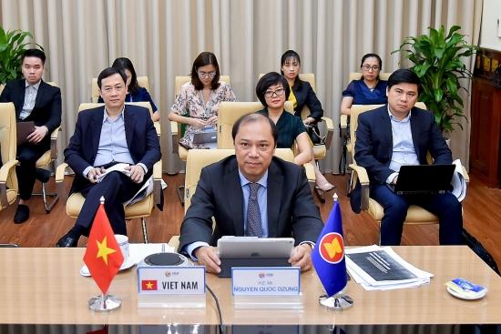 Đối thoại cấp cao trực tuyến về phục hồi ASEAN sau đại dịch