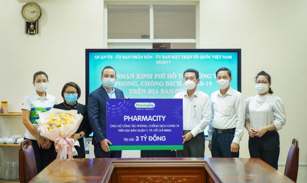 Pharmacity đồng hành với Chính phủ và tuyến đầu chống dịch