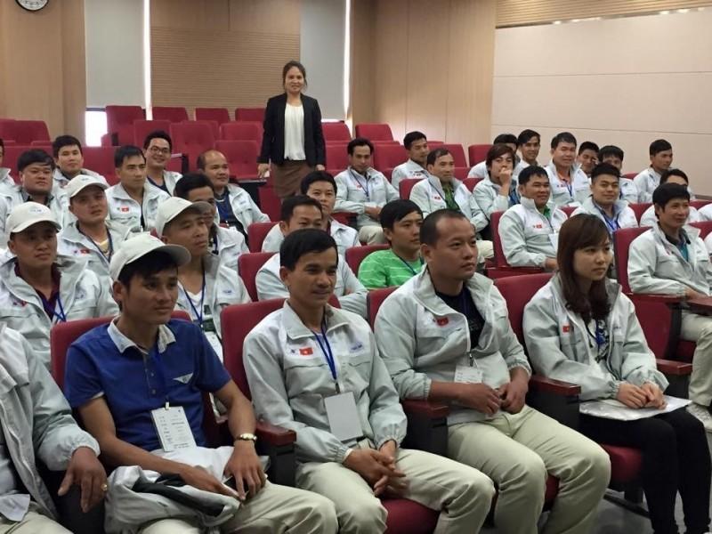 Từ 8 - 9.10, sẽ tổ chức thi tiếng Hàn cho LĐVN