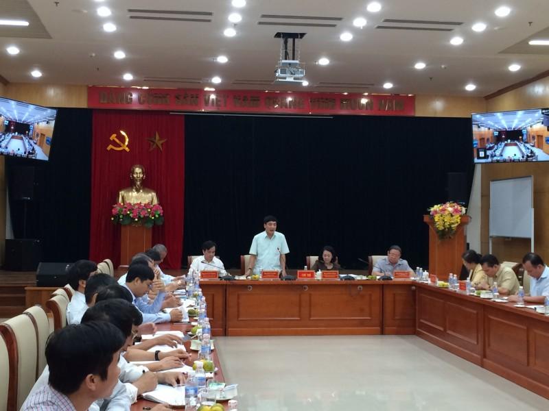 Ban Dân vận trung ương làm việc với Đảng đoàn Tổng LĐLĐVN