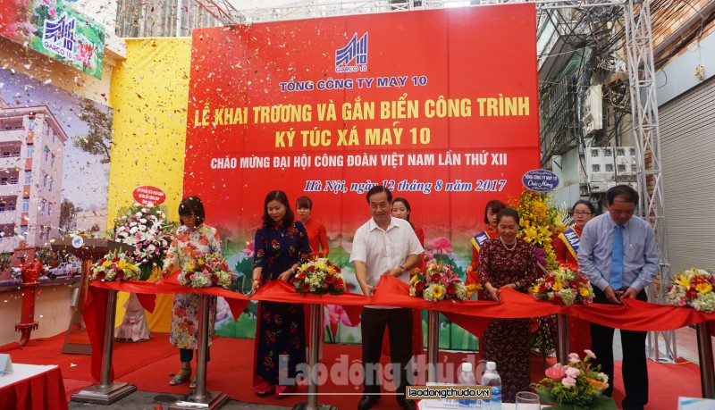 Tổng Công ty May 10 khánh thành ký túc xá cho công nhân