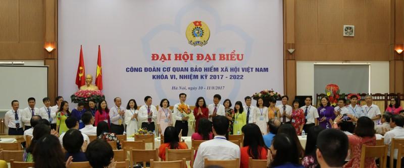 Đại hội khóa VI Công đoàn cơ quan Bảo hiểm xã hội Việt Nam