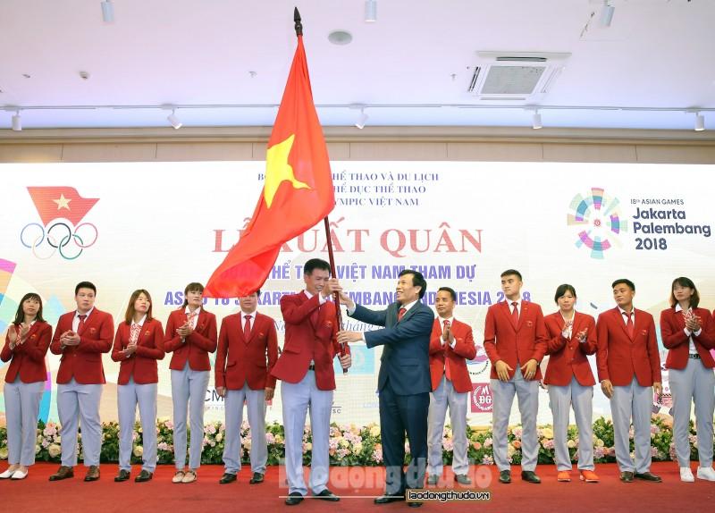 352 vận động viên Việt Nam sẽ tranh tài tại ASIAD 18
