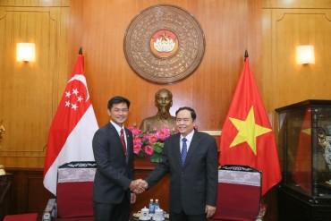 Tăng cường quan hệ hữu nghị Việt Nam-Singapore