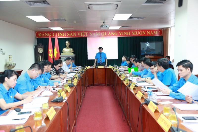 Khai mạc Hội nghị Đoàn Chủ tịch Tổng LĐLĐ Việt Nam lần thứ 31 khóa XI