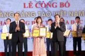 Vinh danh 73 công trình, giải pháp sáng tạo Việt Nam năm 2018