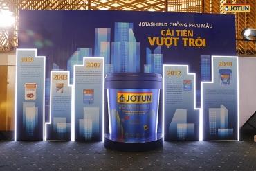 Jotun Việt Nam ra mắt sơn ngoại thất Jotashield chống phai màu mới