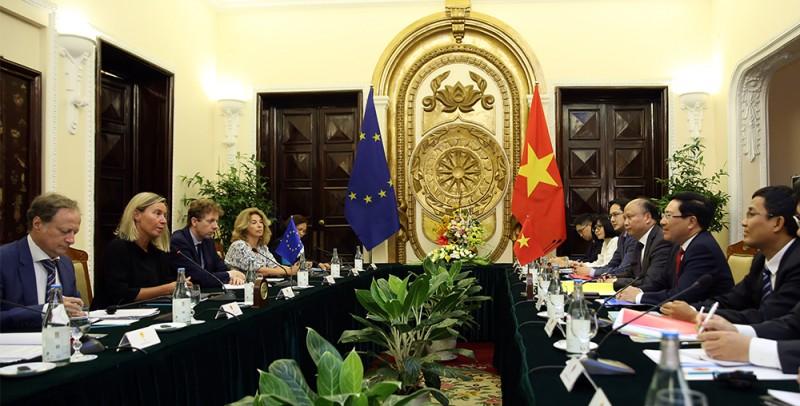 """Đề nghị EU sớm gỡ bỏ """"thẻ vàng"""" đối với xuất khẩu thủy sản của Việt Nam"""