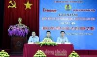 Huyện Mê Linh đứng đầu Thành phố về tỷ lệ nợ bảo hiểm xã hội