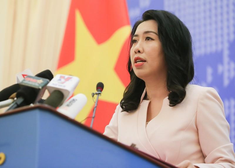 Đề nghị các nước tôn trọng quyền chủ quyền và quyền tài phán của Việt Nam
