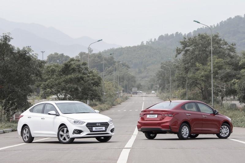 Accent là mẫu xe Hyundai bán chạy nhất 7 tháng qua