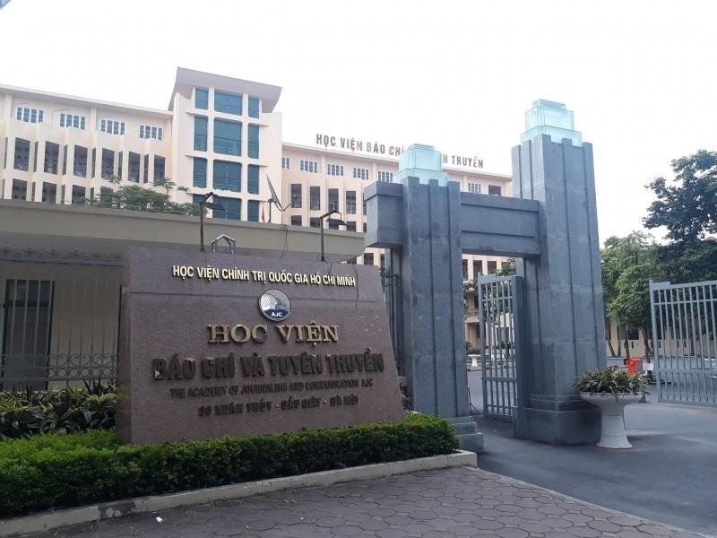 Học viện Báo chí và Tuyên truyền công bố điểm chuẩn năm 2019