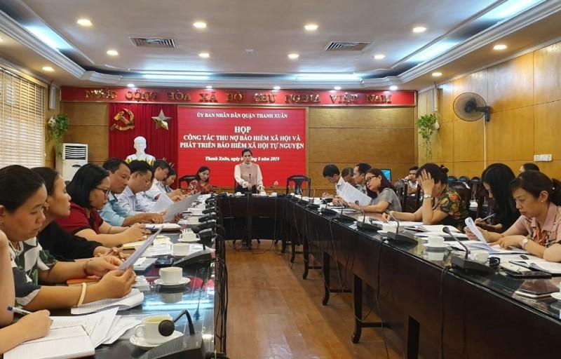 Quận Thanh Xuân: Hơn 2.800 đơn vị nợ tiền bảo hiểm xã hội của người lao động