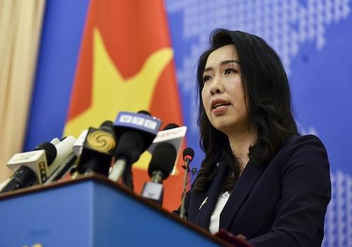 Việt Nam đề nghị các quốc gia tôn trọng nguyên tắc thượng tôn pháp luật ở Biển Đông