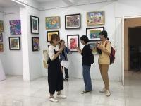 Tổ chức triển lãm tranh thiếu nhi