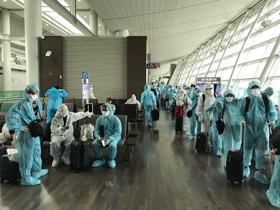Tiếp tục đưa công dân Việt Nam từ Hàn Quốc về nước