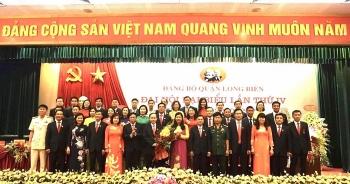 Ông Đường Hoài Nam được tín nhiệm bầu giữ chức Bí thư Quận ủy Long Biên