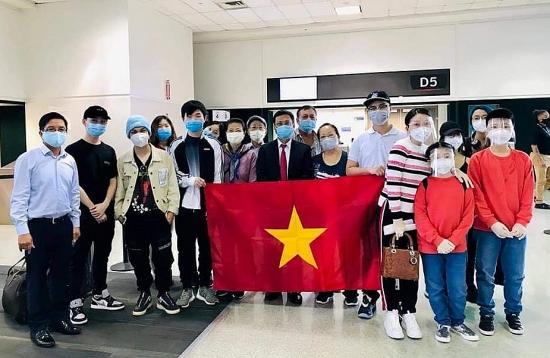Đưa công dân Việt Nam từ Hoa Kỳ và Nhật Bản về nước