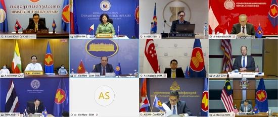 Đối thoại ASEAN - Mỹ lần thứ 33 theo hình thức trực tuyến