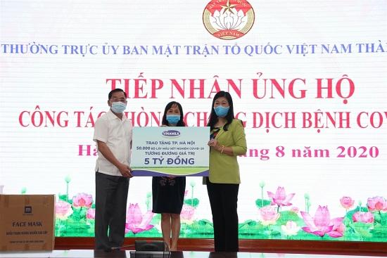 Hà Nội: Tiếp nhận thêm 5 tỷ đồng ủng hộ công tác phòng chống dịch Covid-19