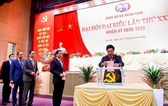 Đại hội đại biểu Đảng bộ Bộ Ngoại giao lần thứ XXVIII thành công tốt đẹp