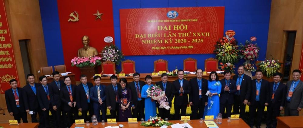 Đồng chí Trần Thanh Hải được bầu giữ chức Bí thư Đảng uỷ Tổng Liên đoàn Lao động Việt Nam
