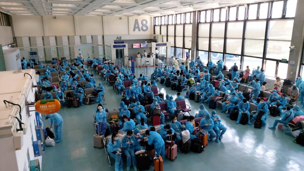 Đưa hơn 520 công dân Việt Nam từ Hàn Quốc và Đài Loan về nước an toàn