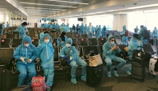 Hơn 340 công dân Việt Nam từ Australia về nước đã được đưa về cơ sở cách ly