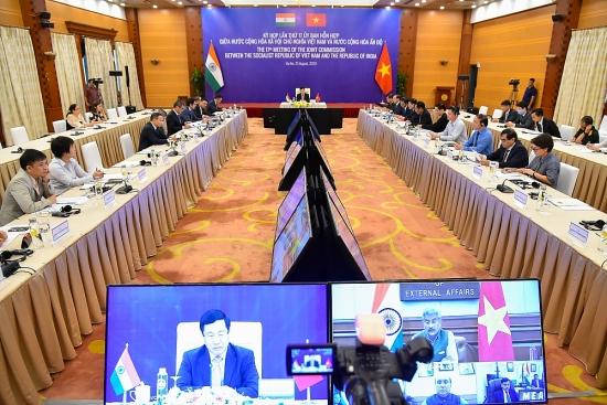 Việt Nam - Ấn Độ: Phấn đấu đưa kim ngạch hai chiều đạt 15 tỷ USD vào thời gian sớm nhất