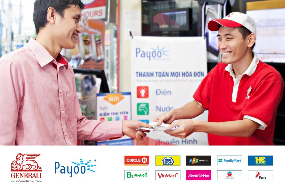 Generali triển khai thanh toán phí bảo hiểm qua ngân hàng số và hơn 7.000 cửa hàng, siêu thị