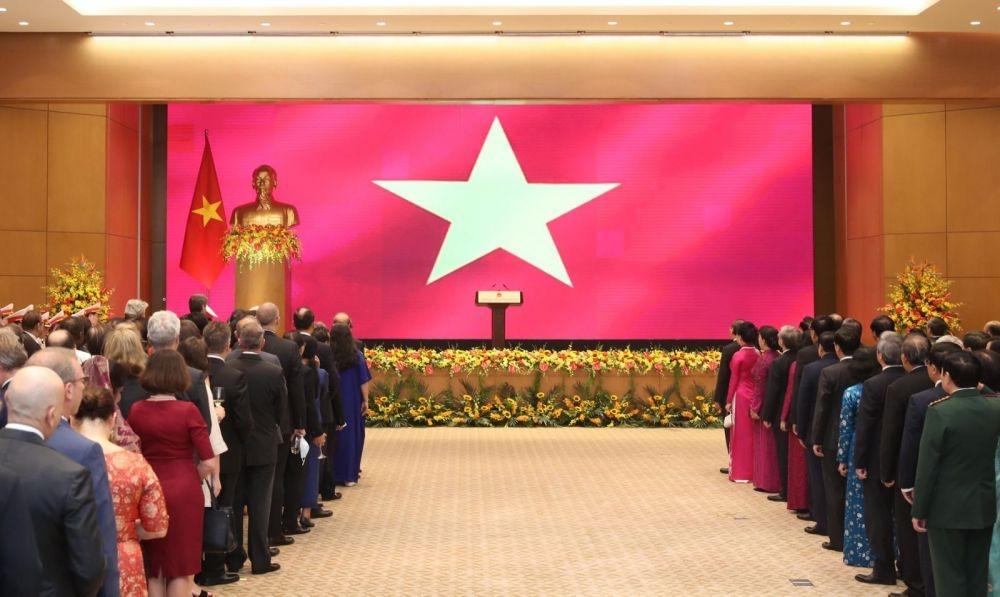 """Việt Nam đang vươn tới mục tiêu """"dân giàu, nước mạnh, dân chủ, công bằng, văn minh"""""""