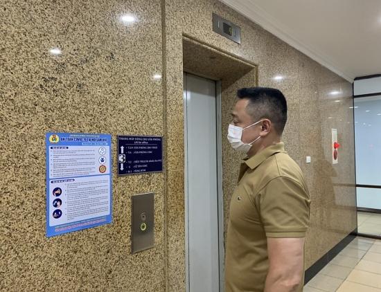 Công đoàn Tổng Công ty UDIC: Kịp thời chăm lo cho người lao động gặp khó khăn do dịch bệnh